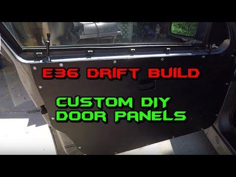 Custom Door Panels  DIY:  Drift Build