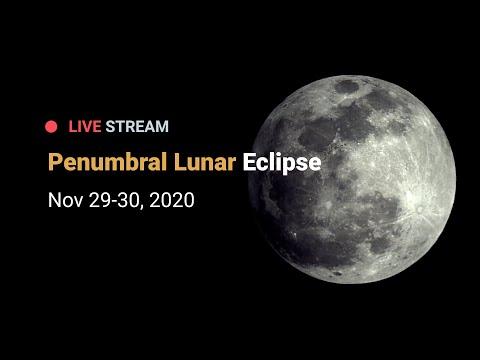 Penumbral Lunar Eclipse - November 29/30, 2020