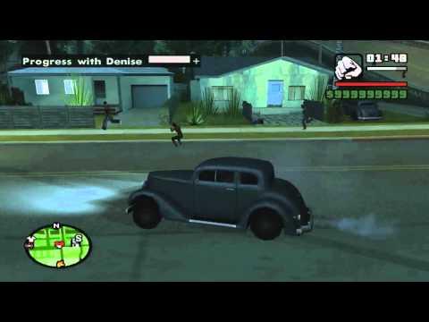 GTA San Andreas Date Denise