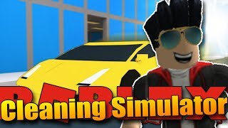 YOUTUBE DO NOT EARN, I have a new job! I HAVE CLEANER CARS!! | ROBLOX: Cleaning Simulator