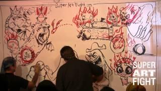Super Art Fight Invades LOS ANGELES [Full Show]