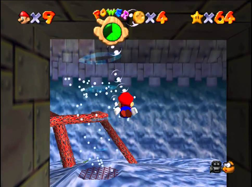 Super Mario 64 65 Springe Zu Den Roten Münzen Youtube