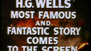 THE WAR OF THE WORLDS (Theatrical Trailer 1953)