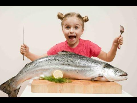 Дети и рыбий жир - YouTube