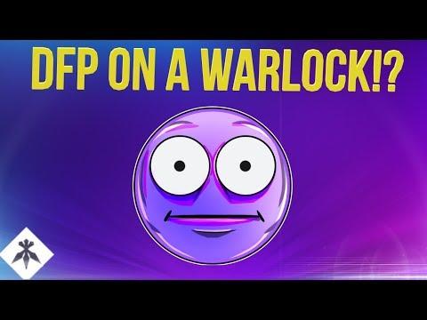 DFP ON A WARLOCK!? DESTINY 2 BLACK ARMORY