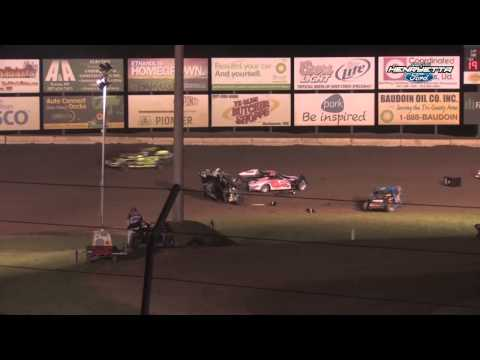 Cole Queensland B-Mod Flip @ Fall Jamboree 09/21/14 Deer Creek Speedway