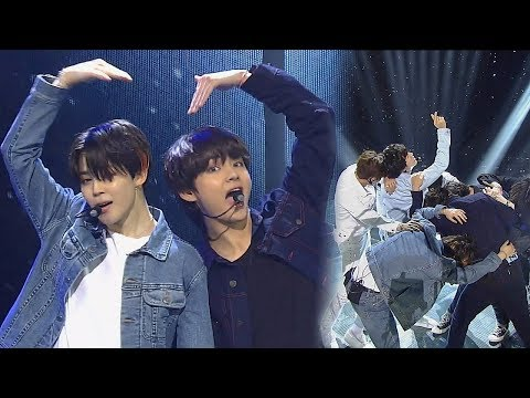 《POWERFUL》 BTS(방탄소년단) - FAKE LOVE @인기가요 Inkigayo 20180610