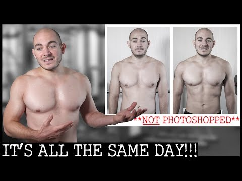90-DAY VEGAN BODY TRANSFORMATION (NO STEROIDS) | DAY#1