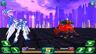 Super Transformer Robot Dinosaur Build and Fight Gameplay HD Part 1