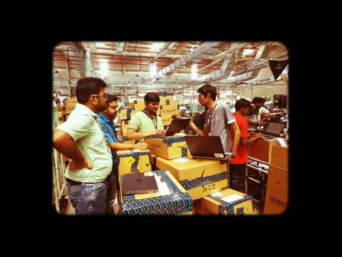 Inside Amazon's Fulfilment Centers - #AmazonGreatIndianSale