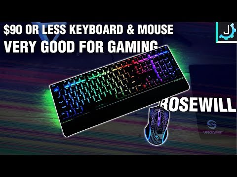 Rosewill K85 and M53 - Excellent For Gaming | RGB Power Couple