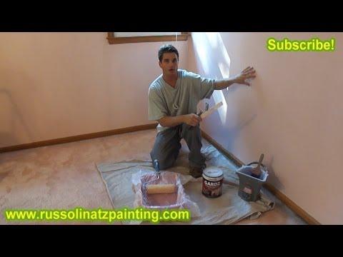DIY How to remove Wallpaper (Part 5) - Drywall Repair ...