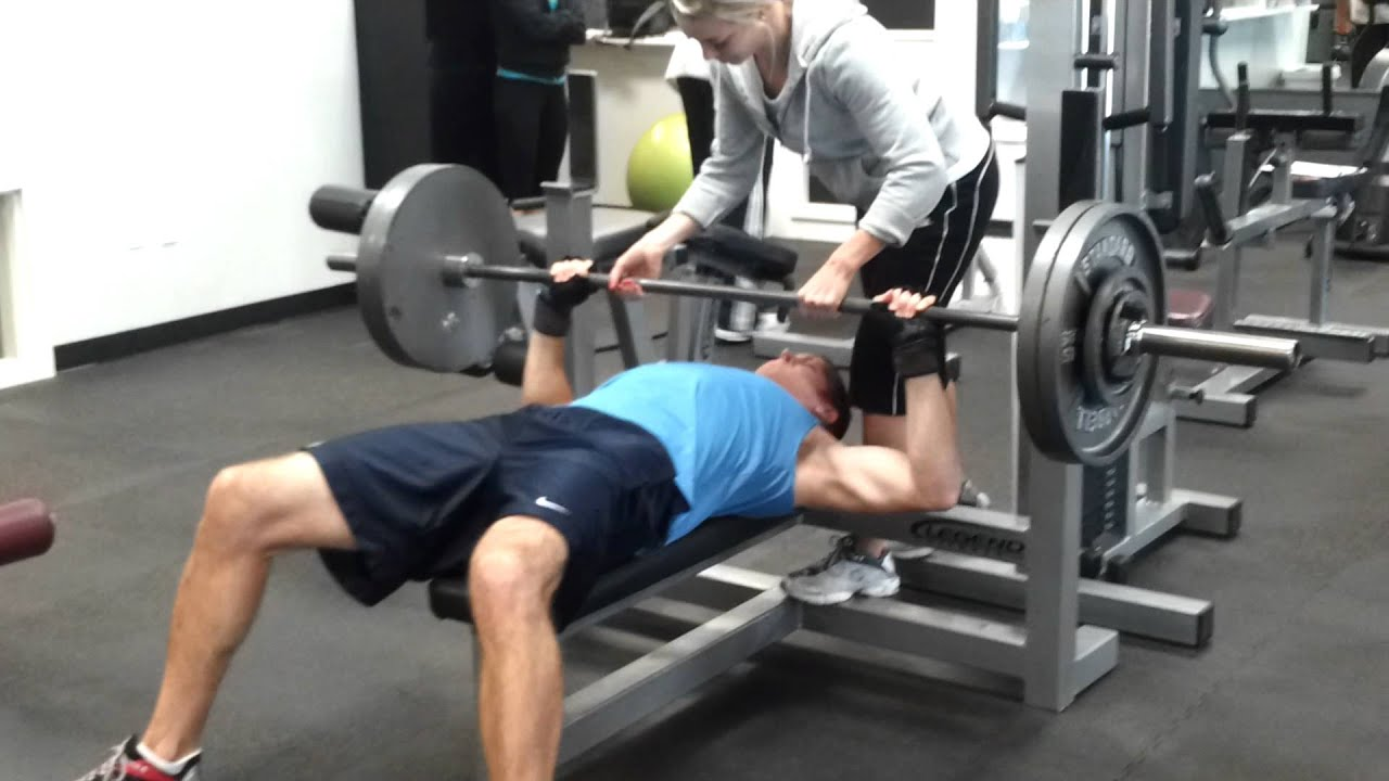 how to max bench press