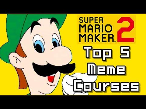 Baixar Super Mario Maker 2 Top 5 MEMES Courses (Switch)