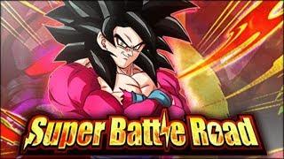 LR SUPER SAIYAN 4 GOKU OBLITERATES CATEGORY SUPER BATTLE ROAD! (DBZ: Dokkan Battle) thumbnail