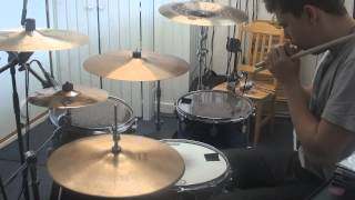 """Testing Drum mics + New Jimmy Chamberlin Signature Snare and 19"""" Holy China"""