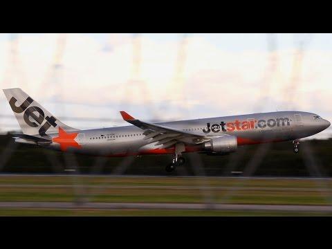 Brisbane Airport: Last Revenue Jetstar A330 Arrival
