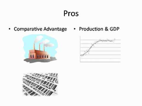 free trade agreement advantages and disadvantages Pros and cons of us free trade agreements, and brief description of president obama's new 8-country free trade agreement.