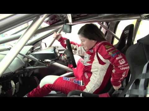 Leanne Tander replaces Garth Tander at Symmons Plains, April 1, 2012