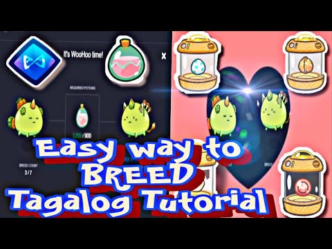 Download Easy way to Breed Axie   Tagalog tutorial   Axie infinity