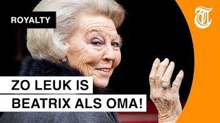 'Beatrix laat zich steeds meer gaan'