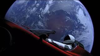 David Bowie - Starman, SpaceX Falcon Heavy