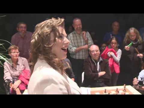 GM Loek van Wely juries Judit Polgar
