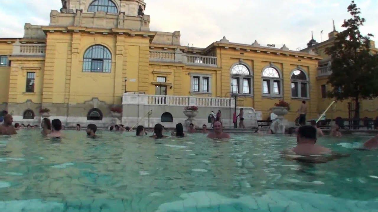 Széchenyi Bath Spa Budapest Hungary - YouTube