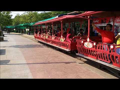 Toy Train Ride In Kankariya Lake