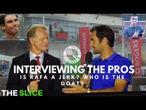What It's Like To Interview Federer & Nadal (Robert Bettauer Interview) | THE SLICE