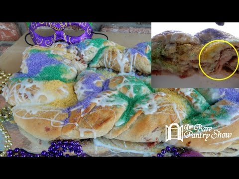 How to Make King Cake from Scratch   Fat Tuesday   Mardi Gras