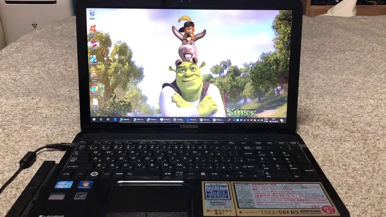 Download Notebook Toshiba Core i7 Completo com 8 Giga Memoria Barato 🙀 Vendido