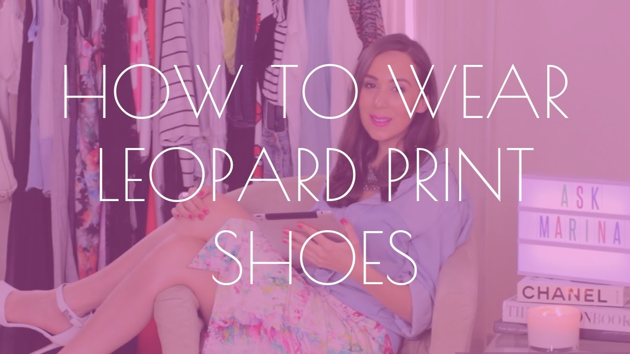 What Shoes To Wear With Leopard Print Dress