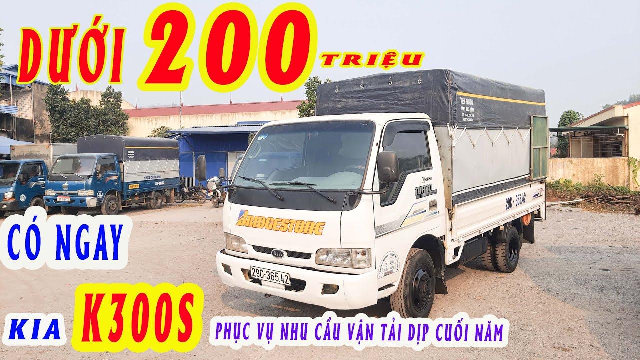 DƯỚI 200tr có ngay KIA K3000s phục vụ nhu cầu VẬN TẢI DỊP cuối năm ĐẠT XE TẢI