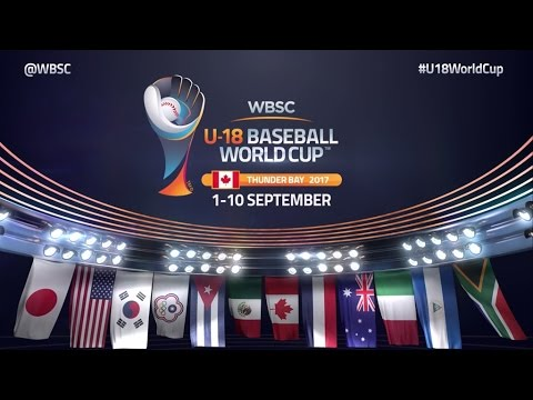 Official Promo: WBSC U-18 Baseball World Cup 2017 Thunder Bay