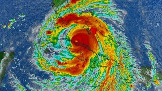 Hurricane Irma Now a Category 3, Could 'Re-Engergize' to Category 4 | MSNBC thumbnail