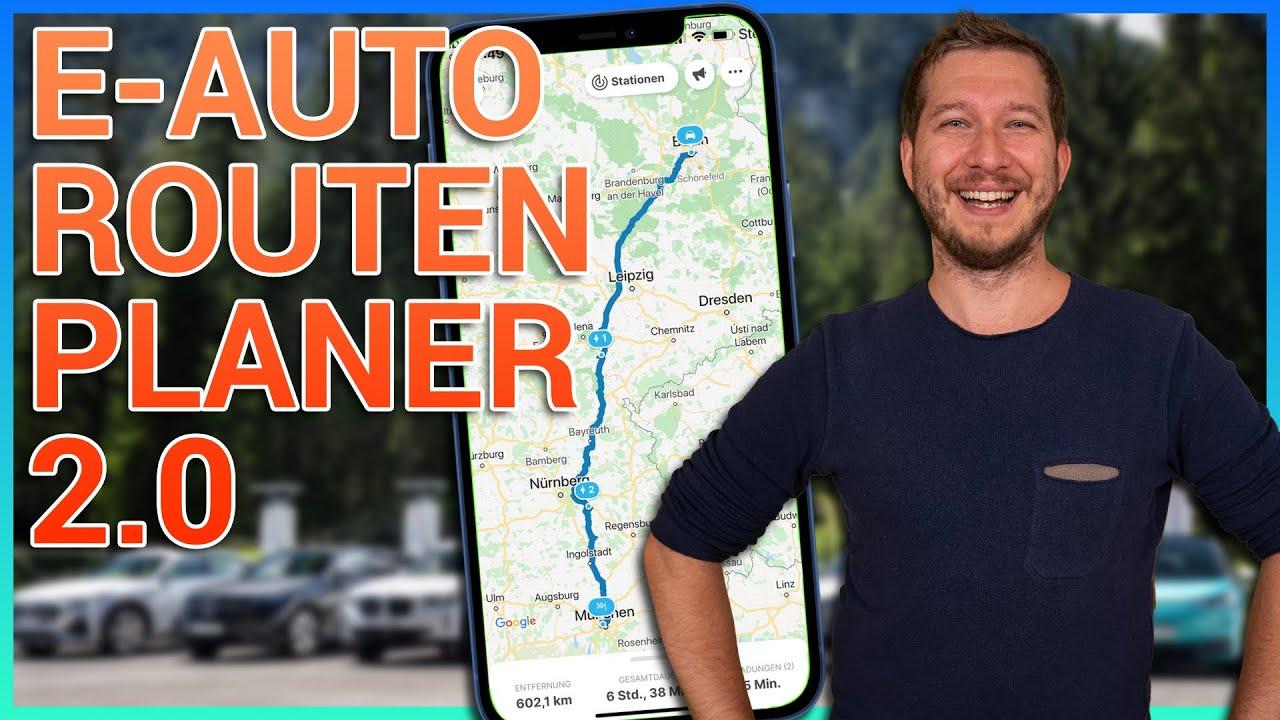Elektroauto Routenplaner 2.0 - Chargemap Update