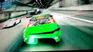 Blur Gameplay (PS3)