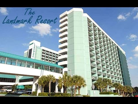 Landmark Hotel Review Part 1 Myrtle Beach, Sc Resort Video