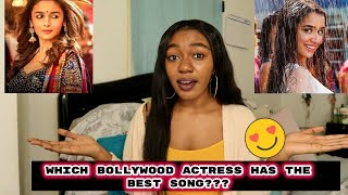 Which Bollywood Actress Has The Best Song? #2  SOB   Bollywood Songs Challenge!!