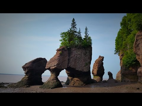 GGC - 37 - The Hopewell Rocks, the Bay of Fundy, and the Highest Tides in the World