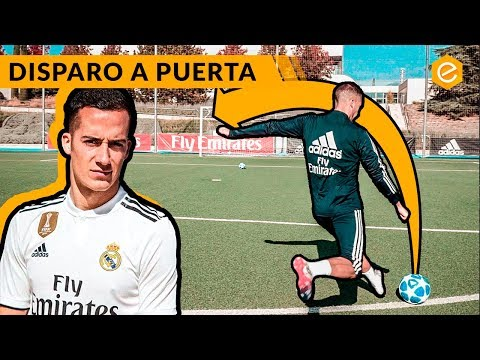 Tutorial DISPAROS con LUCAS VÁZQUEZ · REAL MADRID