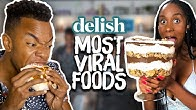 We Eat the MOST VIRAL Internet Foods in the Delish Kitchen! (Cheat Day)