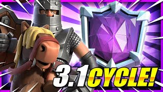 *NEW* #1 Fast Cycle Deck to Push Trophies in Clash Royale!! 🏆