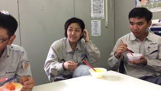 VLOG | Cuộc Sống Nhật Bản 120 : Cùng Người Nhật Ăn Đá Bào Mát Lạnh Tại Công Trình Vào Mùa Hè Ở Nhật