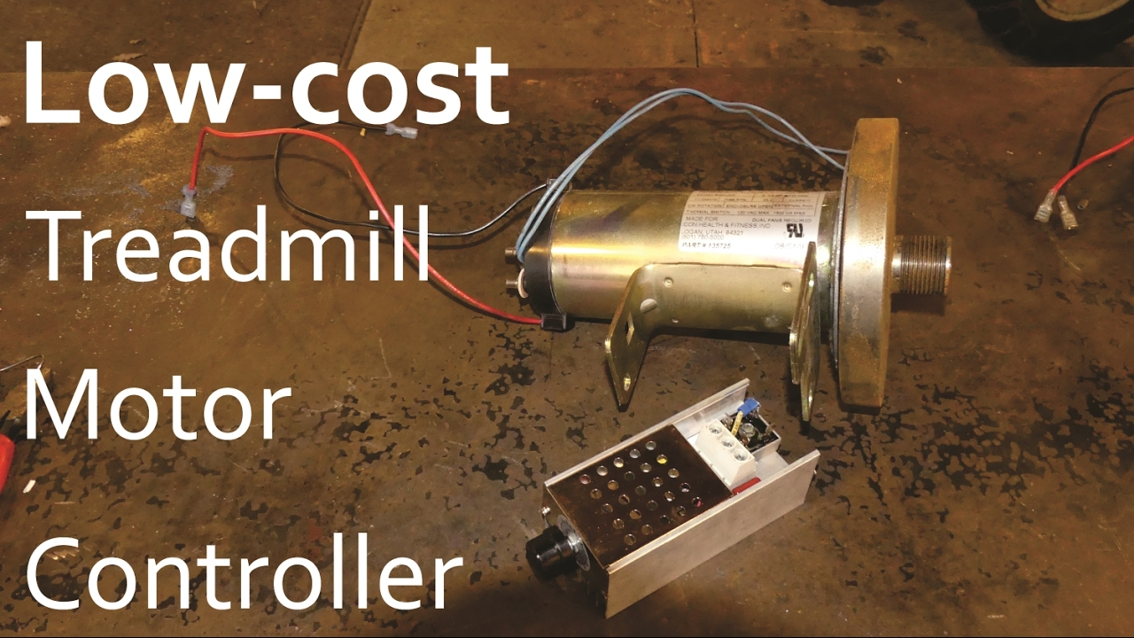 Low Cost DC    Motor    Controller For Treadmill  YouTube