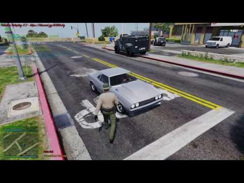 Blaine County Savings Robbery - FiveM Freedom Roleplay 3.0 - Sheriff Gameplay