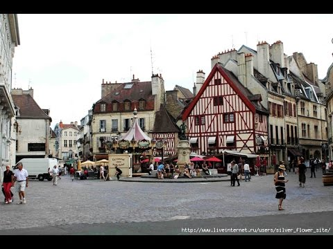 Popular and beautiful cities in France. TOP 10. Travel