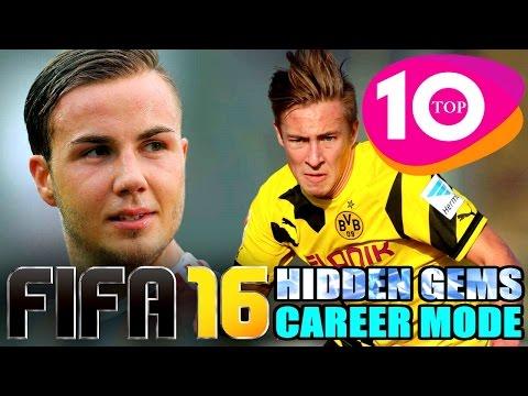 FIFA 16 Top Ten Hidden Gems In Career Mode: Find The Next Mario Gotze!