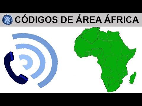 CÓDIGOS DE ÁREA ÁFRICA, LLAMAR A ÁFRICA